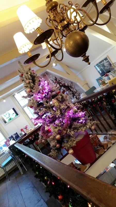 Cupcake & Co. in Kerstsfeer